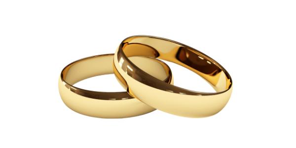 Gold Wedding bands options in HAtton Garden