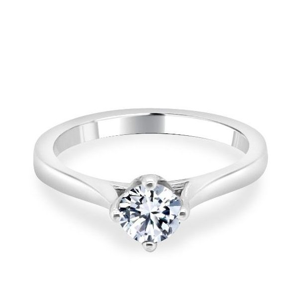 Adel Diamond Solitaire Engagement Ring