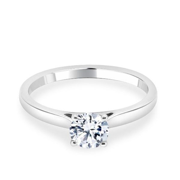 Georgia Diamond Solitaire Engagement Ring