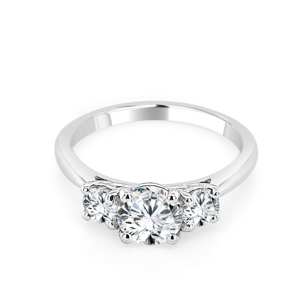 Tilda Diamond Trilogy engagement ring