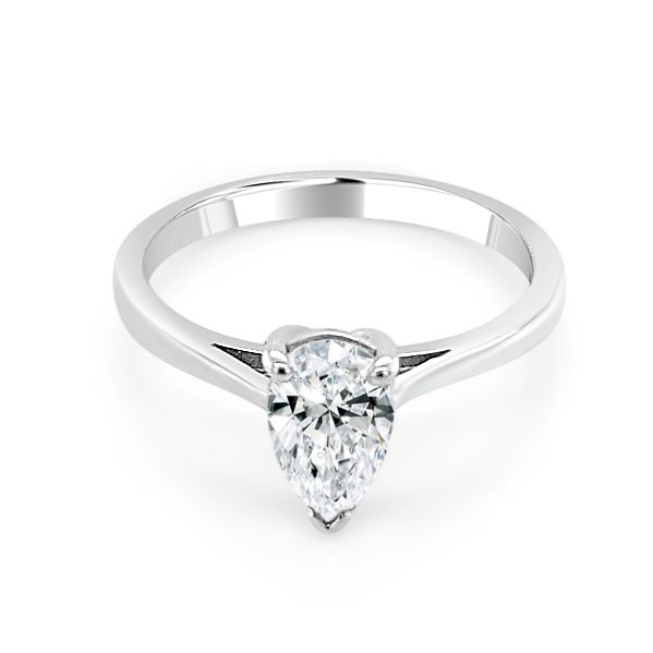 Zuria Diamond Marquise engagement ring