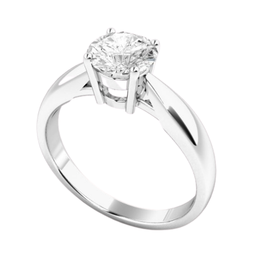 image of Elsa diamond solitaire engagement ring new