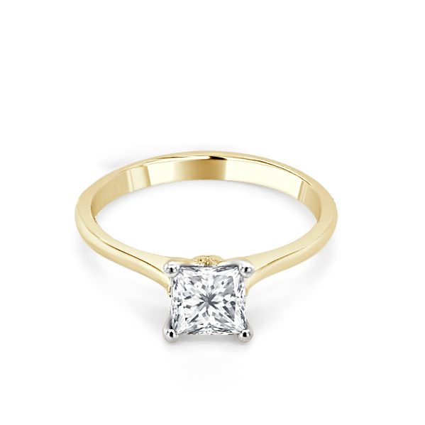 image of Fae Gold Diamond Engagement Ring