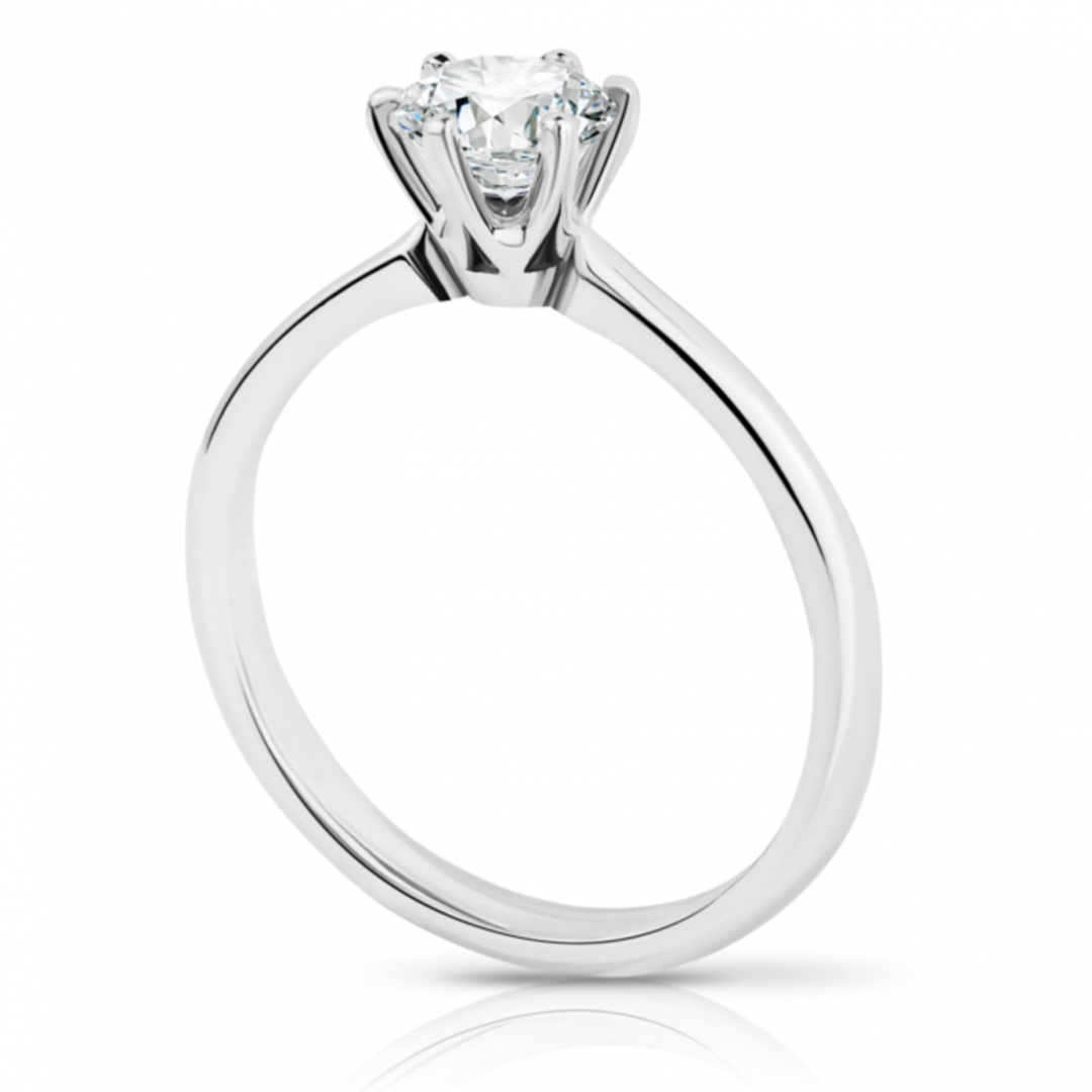 image of Siena diamond solitaire engagement ring