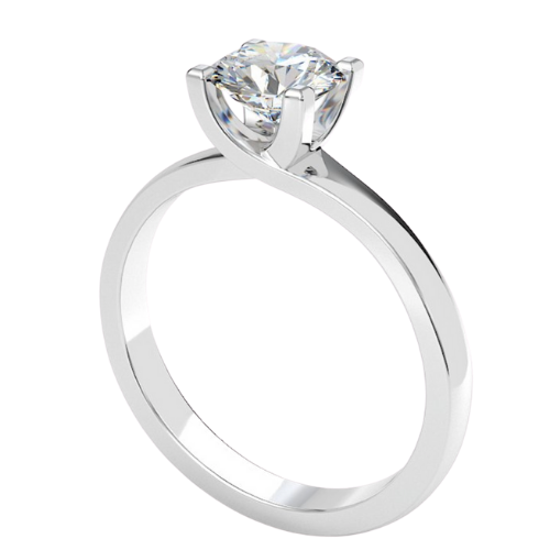 image of Sophia diamond solitaire engagement ring