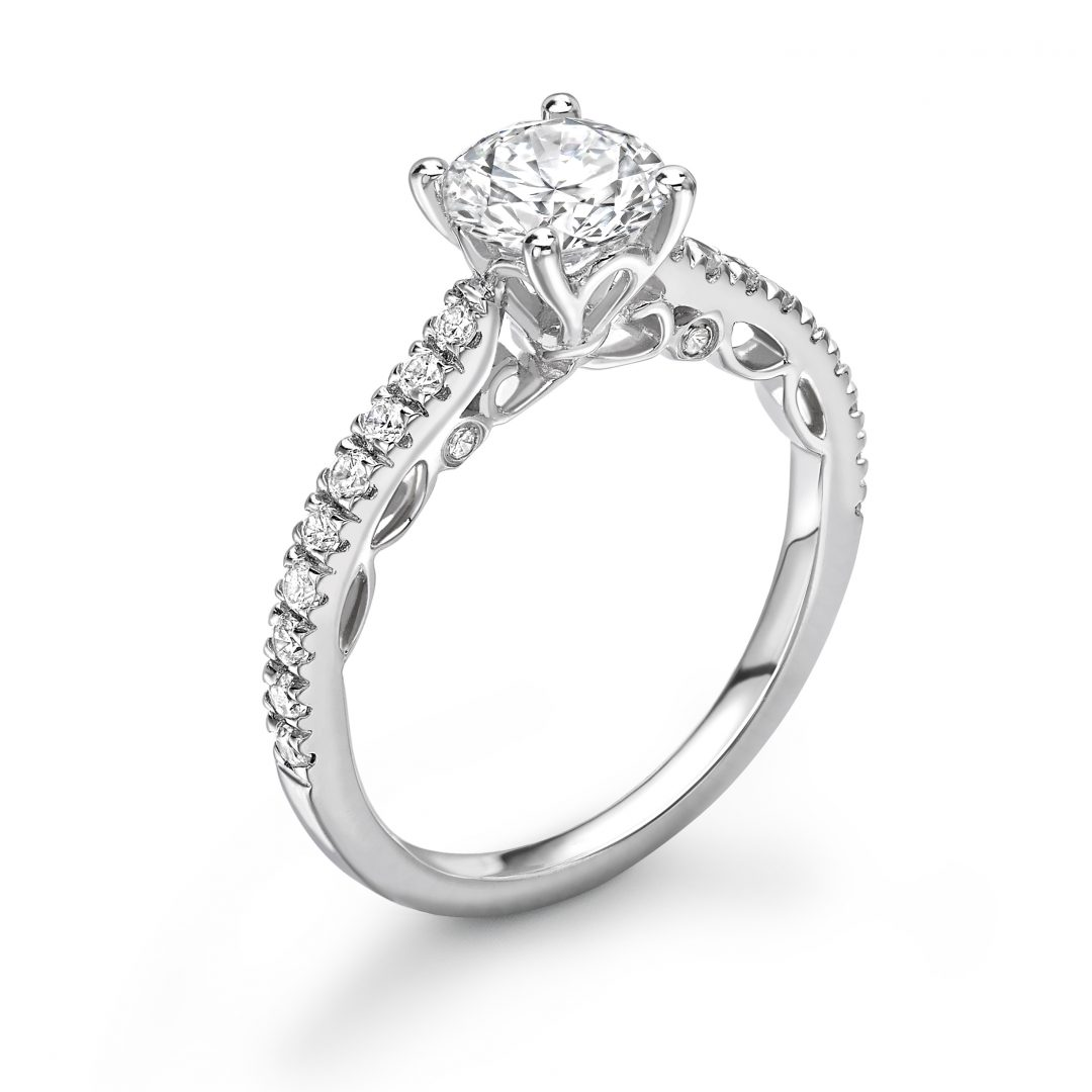 1 Carat Carriage Diamond Engagement ring